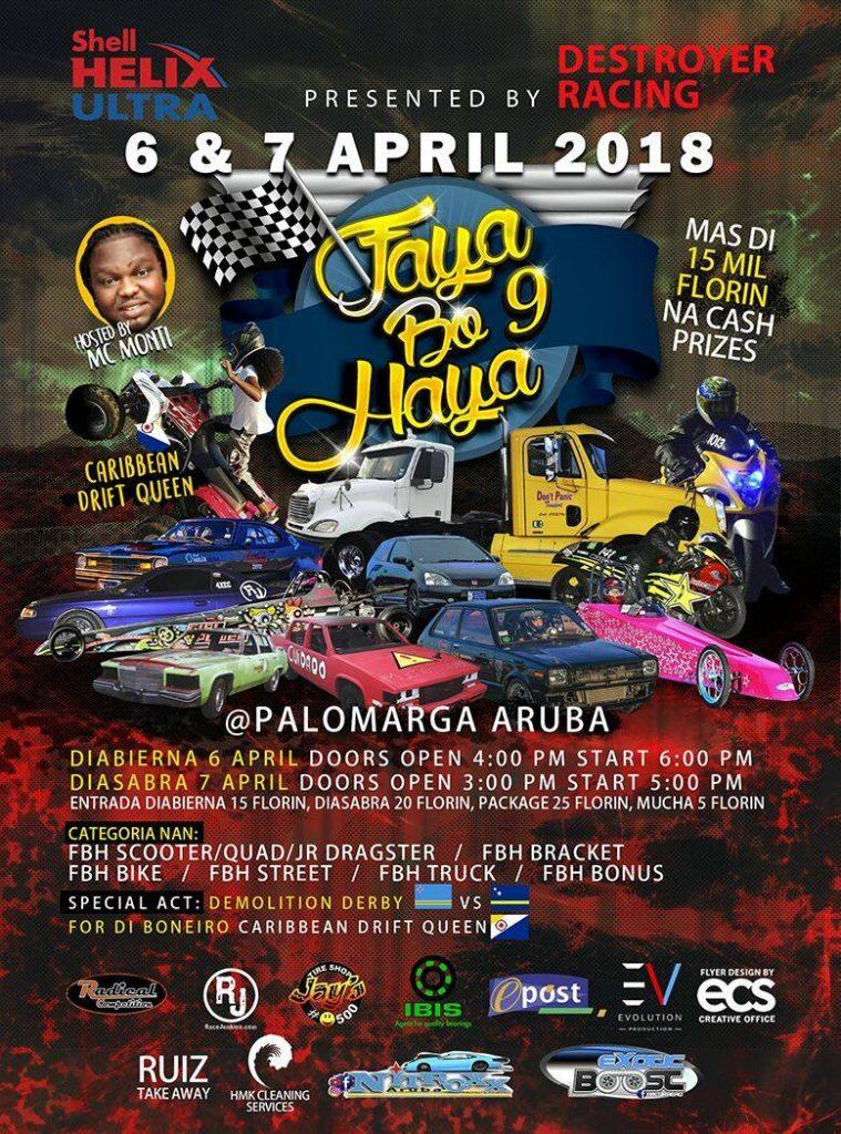 Faya Bo Haya 9 @ Aruba International Raceway