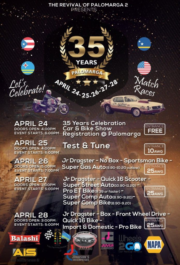 35 Years Palomarga @ Aruba International Raceway