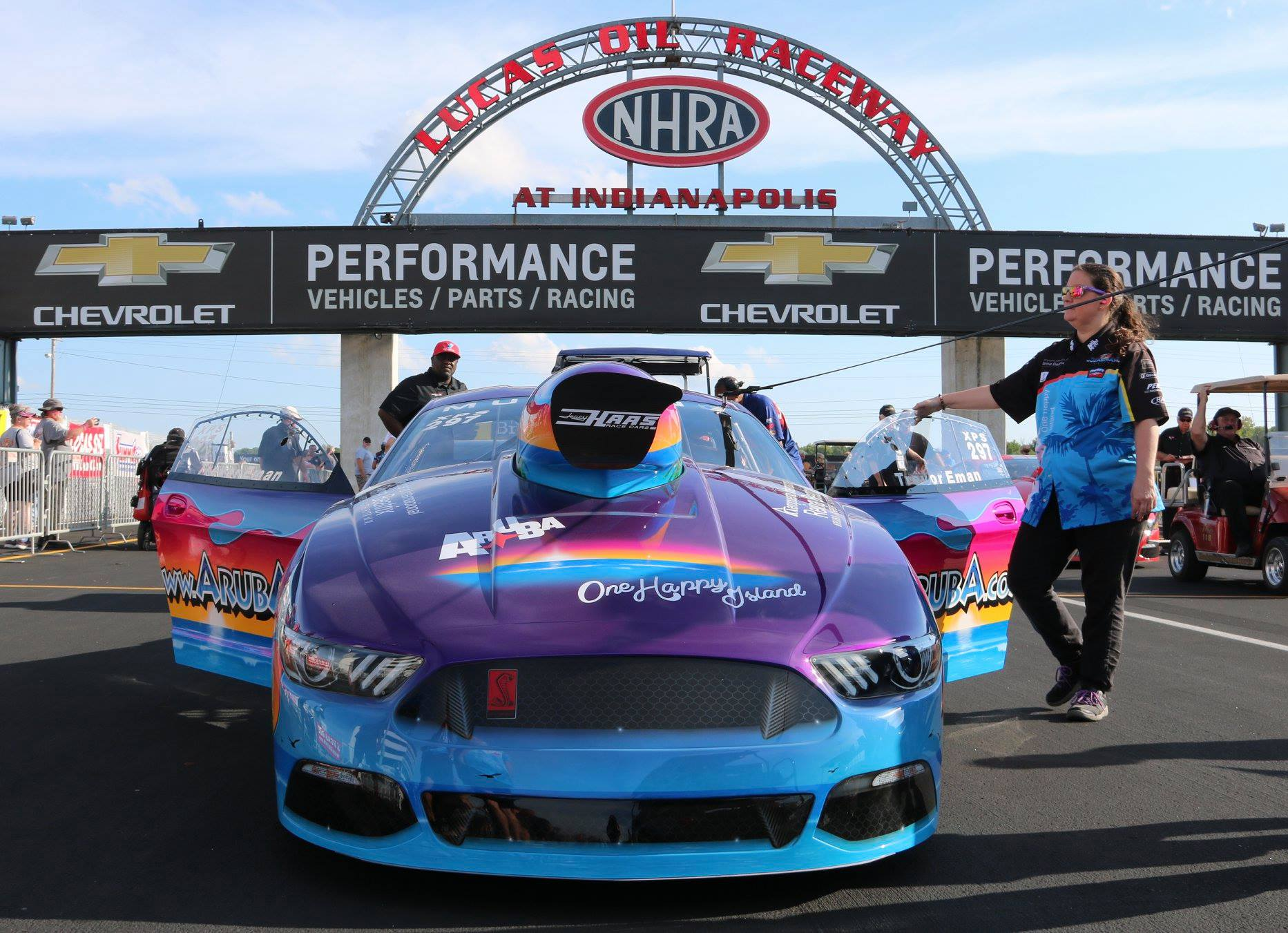 Team Aruba readies for 2019 tour, including four NHRA nationals