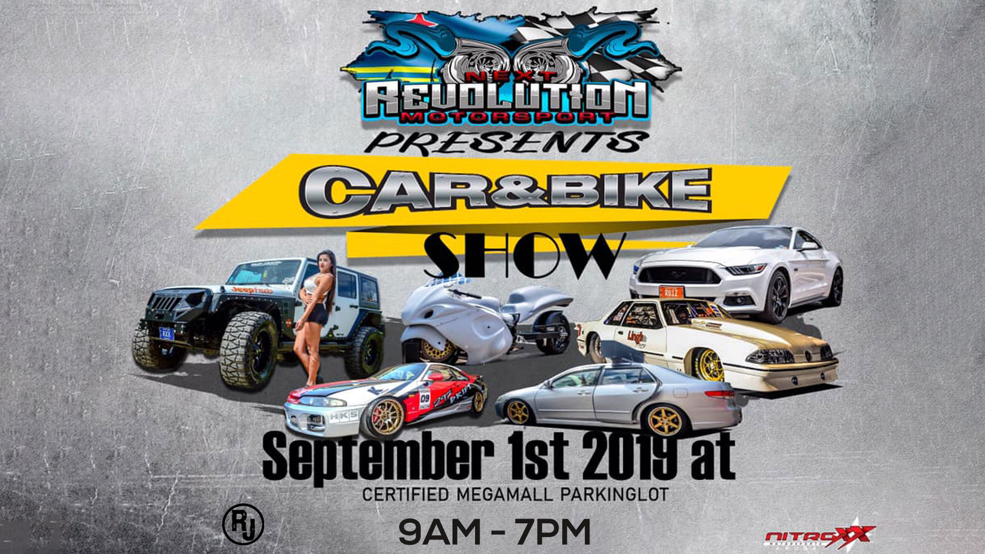 Car & Bike Show by Next Revolution Motorsports