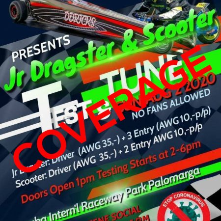 Jr. Dragster & Scooter – Test & Tune – COVERAGE