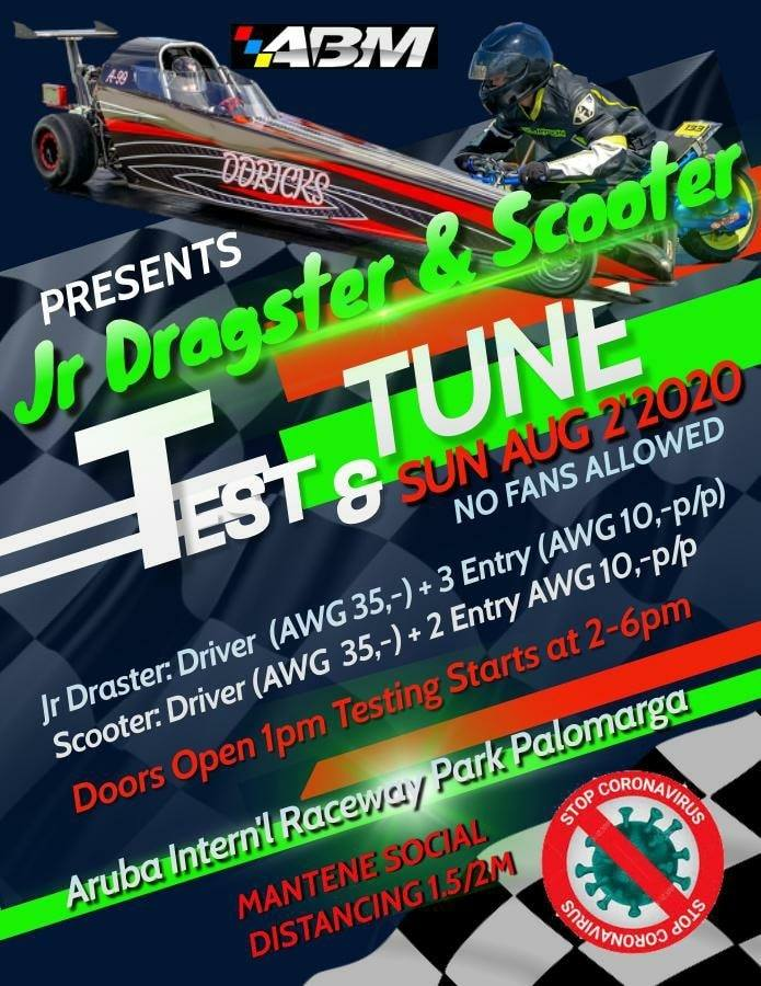 Jr. Dragster & Scooter – Test & Tune