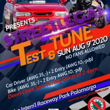 Streetlegal – Test & Tune (Aug-09-2020)