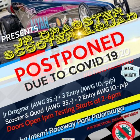 All Activities Postponded due to COVID19